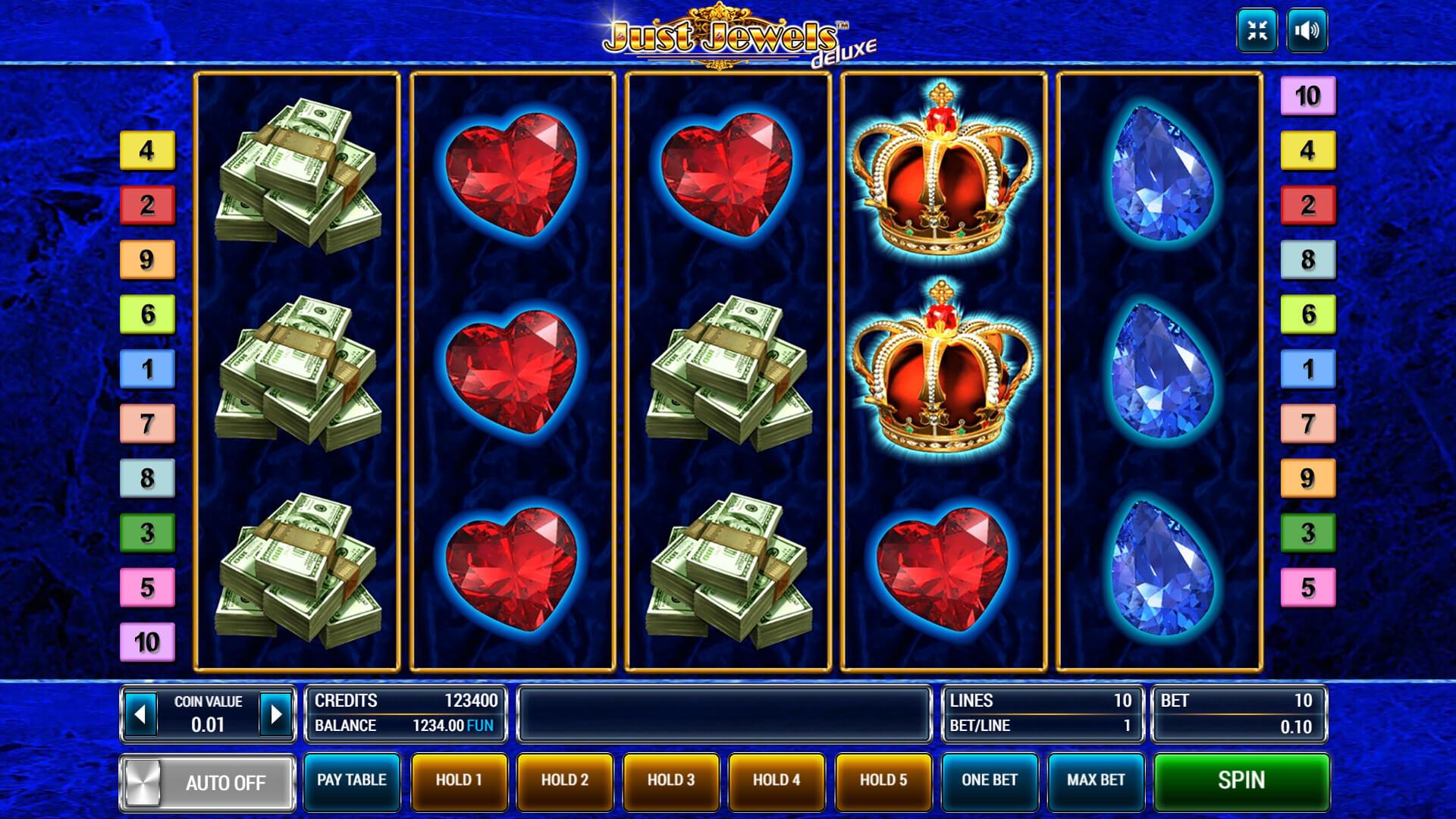 Изображение игрового автомата Just Jewels Deluxe 1
