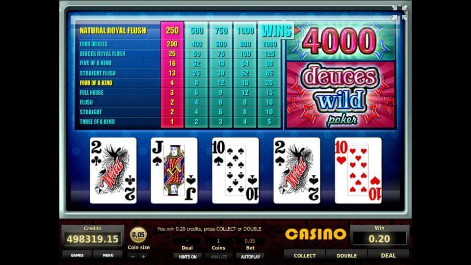 Изображение игрового автомата Deuces Wild Poker 2