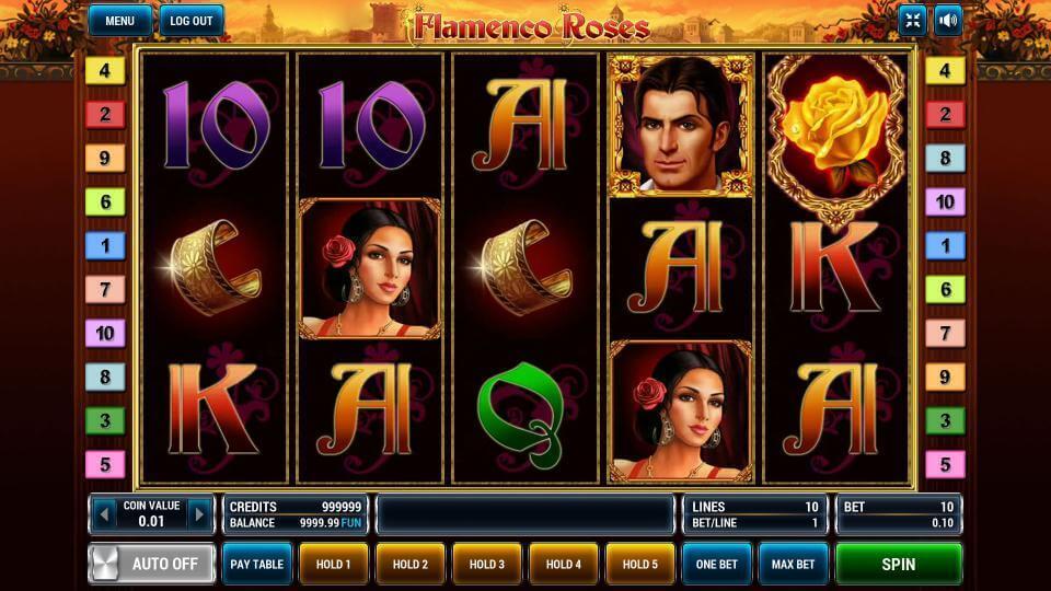 Изображение игрового автомата Flamenco Roses 2