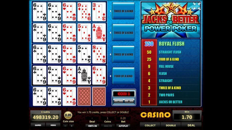 Изображение игрового автомата Jacks or Better 4-Hand Poker 3