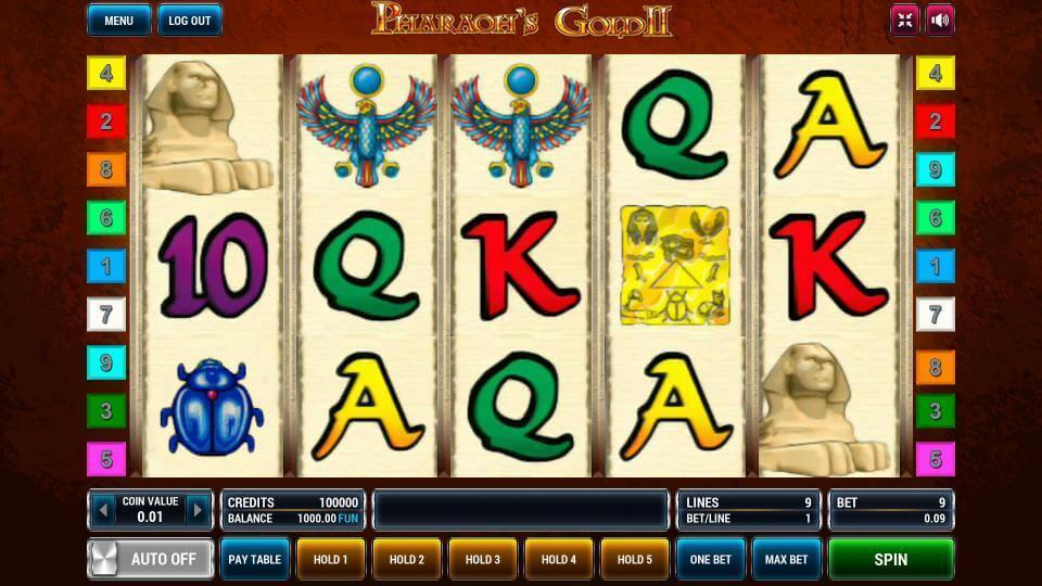 Изображение игрового автомата Pharaoh's Gold 2 2