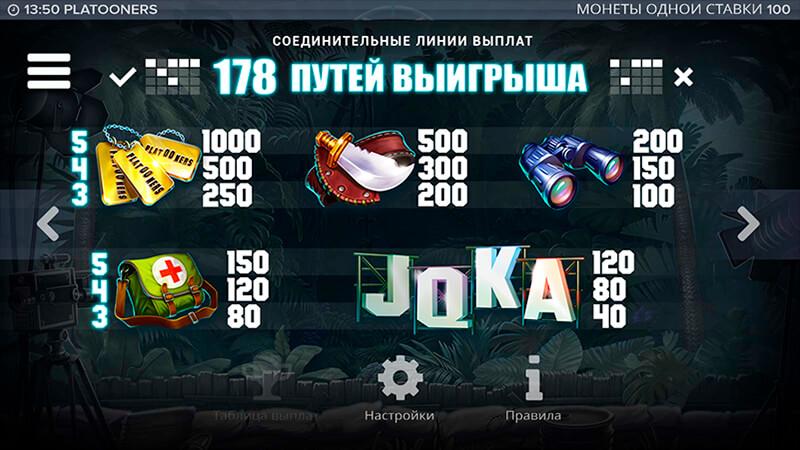 Изображение игрового автомата Platooners 3