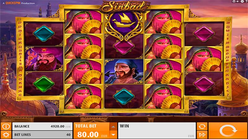 Изображение игрового автомата Sinbad 1